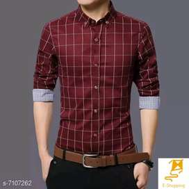Cotton Men's Shirt | Cash On Delivery Available