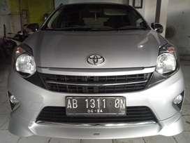 Km 36rb Nol Spet Type Tertinggi - Toyota Agya TRD Sportivo 2014 Manual