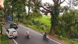 Jual Lahan Tanah murah di Jalan Raya Cipanas Cianjur utk Perumahan