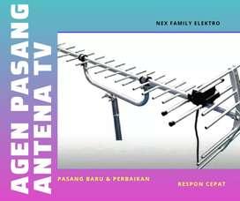 Specialist instalasi pasang sinyal antena tv digital