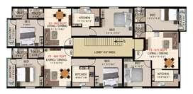 New 2Bhk flat for sale at Pammal voc nagar