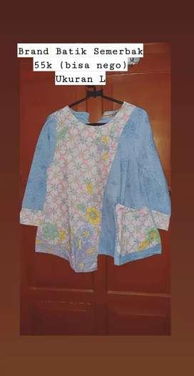 Prelived baju batik