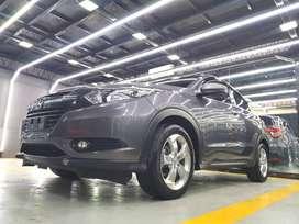 Honda HRV E CVT 2015 Abu Metalik Tgn 1, FULL ORISINIL , 99.9% Like New