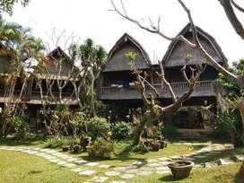 villa di sanur hitung tanah saja, villa joglo, villa murah