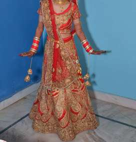 New bridal heavy work lehnga's