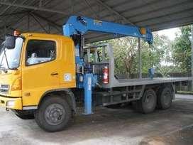 Rental Truk Crane 3 ton - 20 ton Jogja Karanganyar Murah Mingguan