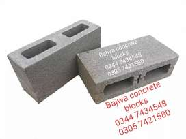 Concrete hollow block free home delivery