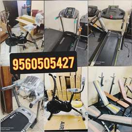 Exercise cycles treadmills or benches gym equipments