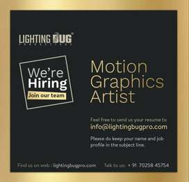 Motion graphics artist
