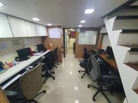Fully furnished office for rent near Vashi Station