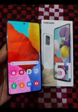 Samsung A51 6/128 GB mulus lengkap