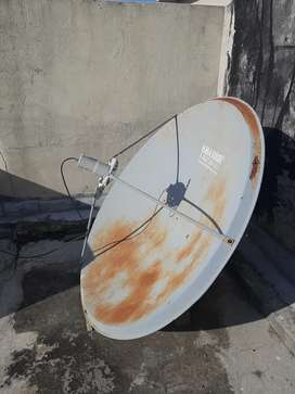 Dish Antenna System with Receiver Remote