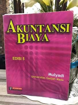 Buku akuntansi biaya