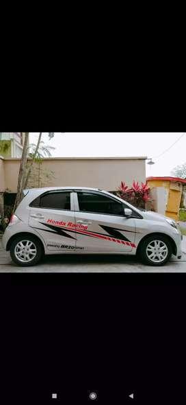 Mobil bekas brio E satya 2014 plat B