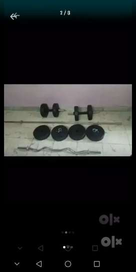 20 kg gym set direct from factory fully packed