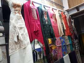 Business of unstiched clothes for sale at Raza plaza (scheme III)