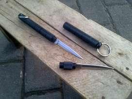 Kubotan bulpoin pisau pena balpoin pisau gantungan kunci