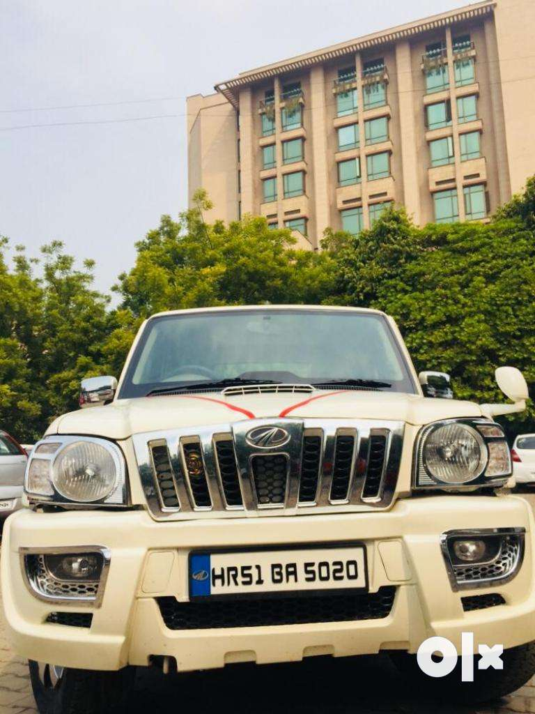 Mahindra Scorpio SLE BS-IV, 2014, Diesel 0