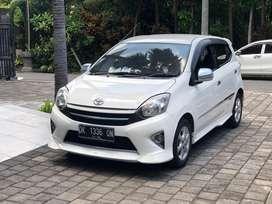 Toyota agya TRDS 2013 putih manual asli bali