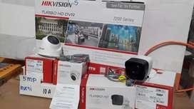 Paket Cctv Online 5MP 2MP Top Brand Hikvision Dan Brand Lokal