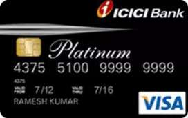 Icici credit card life time free no charges