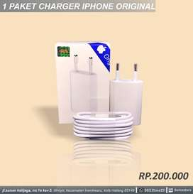 Charger iphone original 1 paket