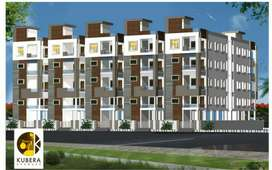 3BHK flats Rajahmundry 1500 sft east facing