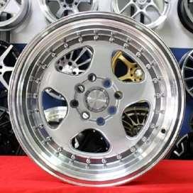 burn wheel r15x8/9 hole 8x100-114 hsr