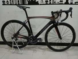 Sepeda balap roadbike pacific primum 9 9.0 carbon ultegra R8000 fizik