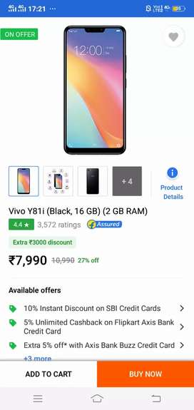 Vivo y81 not fingerprint /only face lock and password and pattern