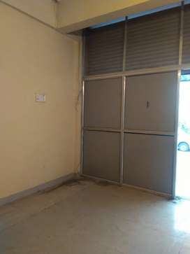 Shop on rent with partitions