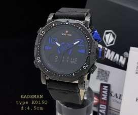 Jam tangan kademan K015G Original