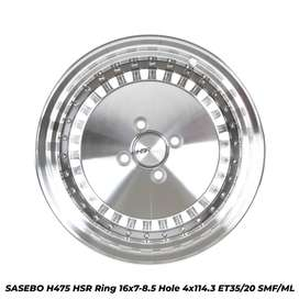 JUAL PELEK RACING SASEBO H475 HSR R16X7-85 H4X114,3 ET35-20 SMF-ML