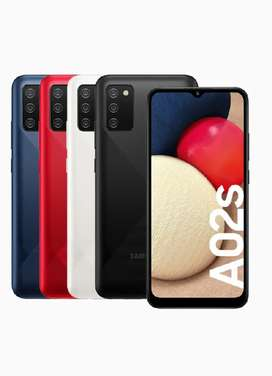 SAMSUNG A02s BOX PACK COMPANY PACK PHONE