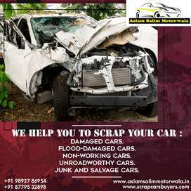 Non working car scrap car dealers