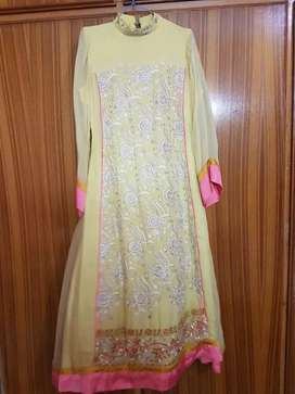 Gulkari Yellow  dress
