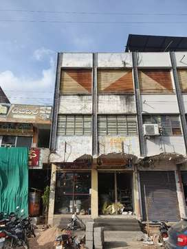 Commercial building and land for sale in heart of city, siddipet