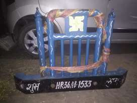Tractor heavy bumper