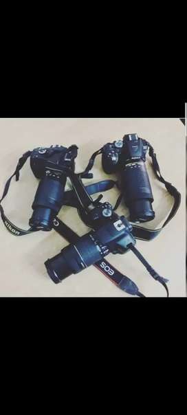 DSLR for Rent All Models available
