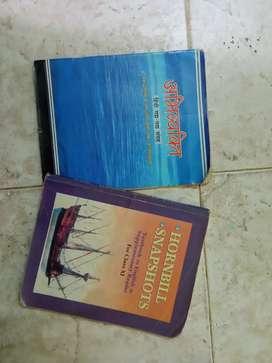 11th std hindi and eng textbooks