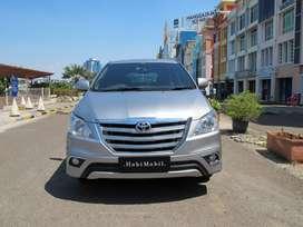Toyota Innova V Luxury Metik Tahun 2014 Angs 3,6Jtan