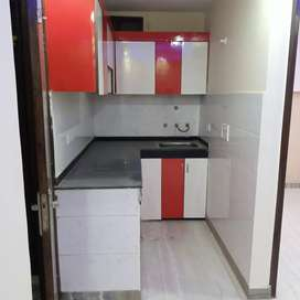 2bhk L type with bike parking near by metro