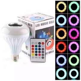 Lampu LED RGB + Speaker Bluetooth