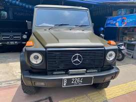 Mercy 280GE th 1990 MT 4x4 5 speed body aluminium barang langka