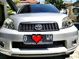 Toyota Rush G manual Luxury th 2013 setangan cat ori airbag terawat
