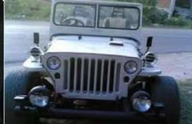 Modified old jeep