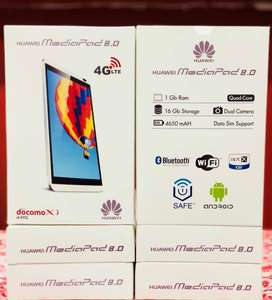 HUAWEI MEDIAPAD M1 Tablet best tab for kids with complete box