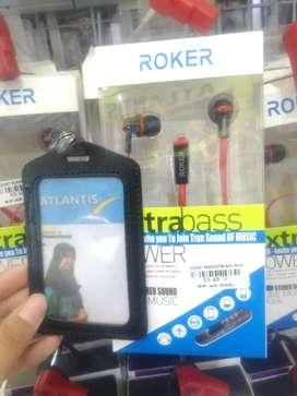 Headset roker extra bass