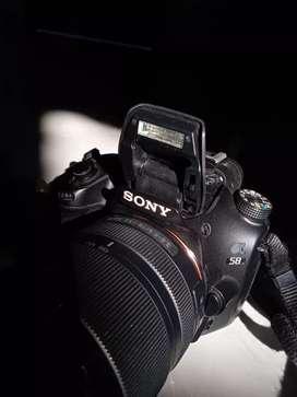 Sony alpha 58 dslr