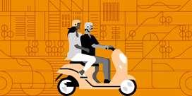Uber moto Santacruz